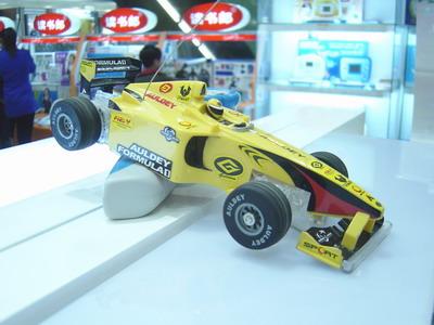 八楼商场:f1赛车遥控车模型上柜